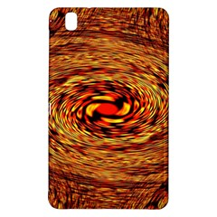 Orange Seamless Psychedelic Pattern Samsung Galaxy Tab Pro 8 4 Hardshell Case