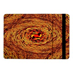 Orange Seamless Psychedelic Pattern Samsung Galaxy Tab Pro 10 1  Flip Case
