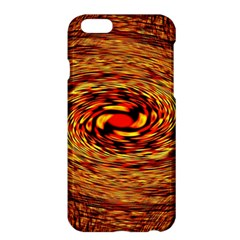 Orange Seamless Psychedelic Pattern Apple Iphone 6 Plus/6s Plus Hardshell Case
