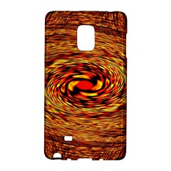 Orange Seamless Psychedelic Pattern Galaxy Note Edge