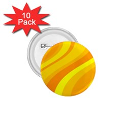 Orange Yellow Background 1 75  Buttons (10 Pack)