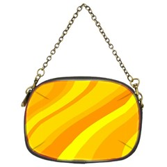 Orange Yellow Background Chain Purses (two Sides)