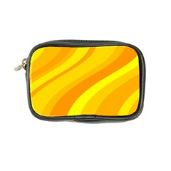 Orange Yellow Background Coin Purse