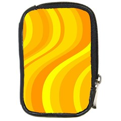 Orange Yellow Background Compact Camera Cases
