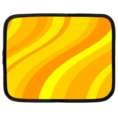 Orange Yellow Background Netbook Case (xl)