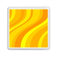 Orange Yellow Background Memory Card Reader (square)