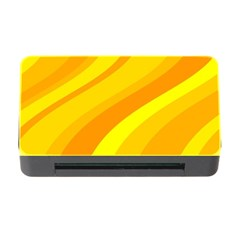 Orange Yellow Background Memory Card Reader with CF