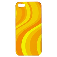 Orange Yellow Background Apple Iphone 5 Hardshell Case