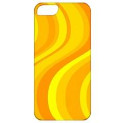 Orange Yellow Background Apple Iphone 5 Classic Hardshell Case