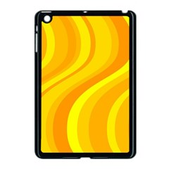 Orange Yellow Background Apple Ipad Mini Case (black)