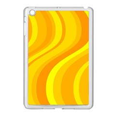 Orange Yellow Background Apple Ipad Mini Case (white)