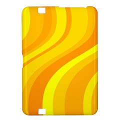 Orange Yellow Background Kindle Fire Hd 8 9