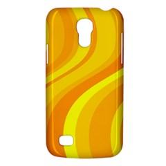 Orange Yellow Background Galaxy S4 Mini