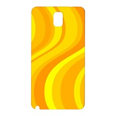 Orange Yellow Background Samsung Galaxy Note 3 N9005 Hardshell Back Case
