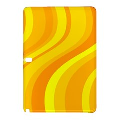 Orange Yellow Background Samsung Galaxy Tab Pro 10 1 Hardshell Case