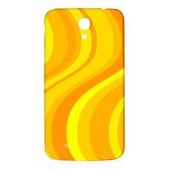 Orange Yellow Background Samsung Galaxy Mega I9200 Hardshell Back Case