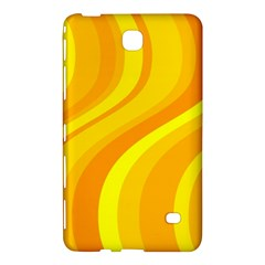 Orange Yellow Background Samsung Galaxy Tab 4 (8 ) Hardshell Case