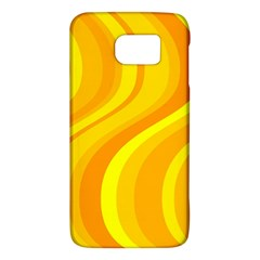Orange Yellow Background Galaxy S6