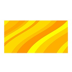 Orange Yellow Background Satin Wrap
