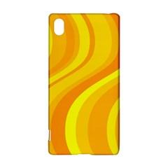 Orange Yellow Background Sony Xperia Z3+