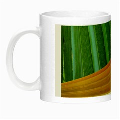 Pattern Colorful Palm Leaves Night Luminous Mugs