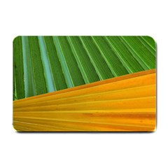 Pattern Colorful Palm Leaves Small Doormat