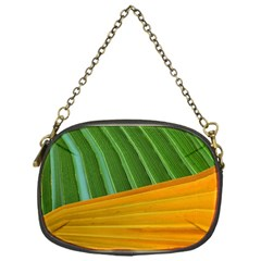 Pattern Colorful Palm Leaves Chain Purses (one Side)