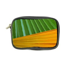 Pattern Colorful Palm Leaves Coin Purse