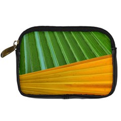 Pattern Colorful Palm Leaves Digital Camera Cases