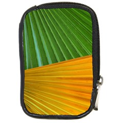 Pattern Colorful Palm Leaves Compact Camera Cases