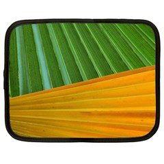 Pattern Colorful Palm Leaves Netbook Case (xl)