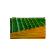 Pattern Colorful Palm Leaves Cosmetic Bag (small)