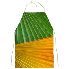 Pattern Colorful Palm Leaves Full Print Aprons