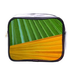 Pattern Colorful Palm Leaves Mini Toiletries Bags