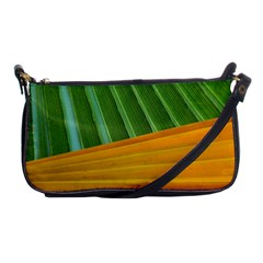 Pattern Colorful Palm Leaves Shoulder Clutch Bags