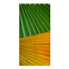 Pattern Colorful Palm Leaves Shower Curtain 36  X 72  (stall)