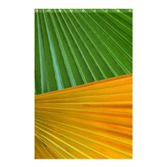 Pattern Colorful Palm Leaves Shower Curtain 48  X 72  (small)