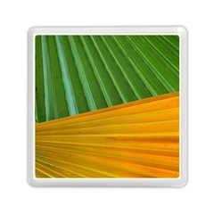 Pattern Colorful Palm Leaves Memory Card Reader (square)