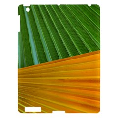 Pattern Colorful Palm Leaves Apple Ipad 3/4 Hardshell Case
