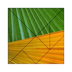 Pattern Colorful Palm Leaves Acrylic Tangram Puzzle (6  X 6 )