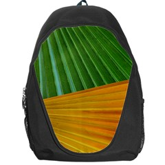 Pattern Colorful Palm Leaves Backpack Bag