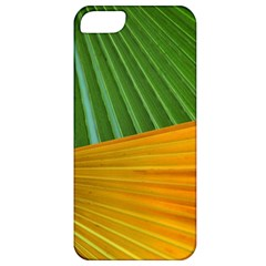 Pattern Colorful Palm Leaves Apple Iphone 5 Classic Hardshell Case