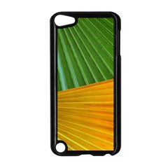 Pattern Colorful Palm Leaves Apple Ipod Touch 5 Case (black)