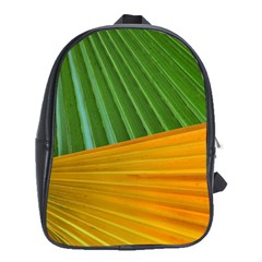 Pattern Colorful Palm Leaves School Bags (xl)