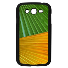 Pattern Colorful Palm Leaves Samsung Galaxy Grand Duos I9082 Case (black)