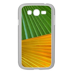 Pattern Colorful Palm Leaves Samsung Galaxy Grand Duos I9082 Case (white)