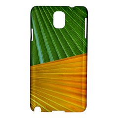 Pattern Colorful Palm Leaves Samsung Galaxy Note 3 N9005 Hardshell Case