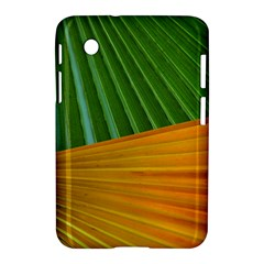 Pattern Colorful Palm Leaves Samsung Galaxy Tab 2 (7 ) P3100 Hardshell Case
