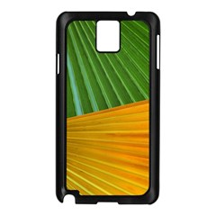 Pattern Colorful Palm Leaves Samsung Galaxy Note 3 N9005 Case (black)