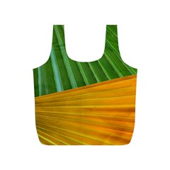 Pattern Colorful Palm Leaves Full Print Recycle Bags (s)